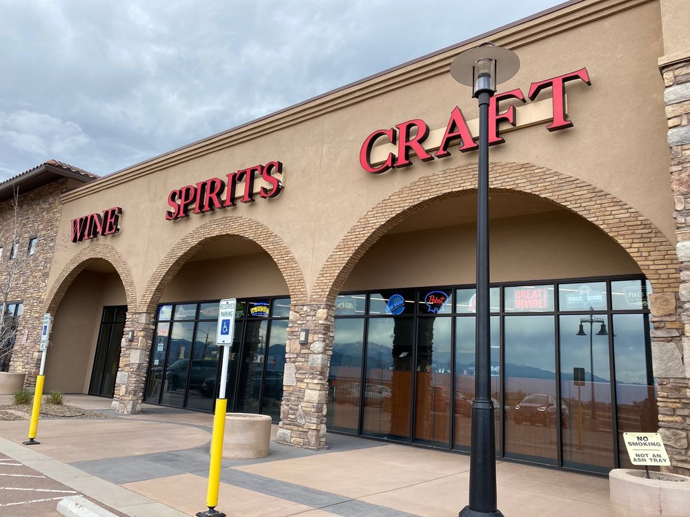 Flying Horse Wine and Spirits: 2678 N Gate Blvd, Colorado Springs, CO