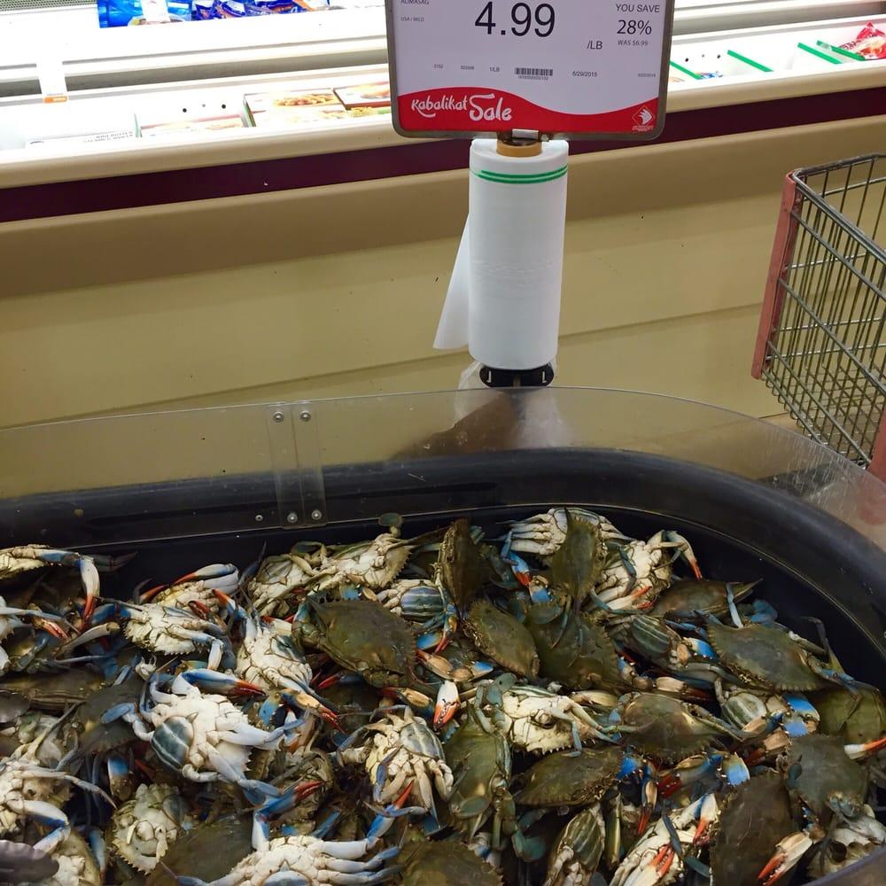Live blue crab alimasag yelp for Fish market sacramento