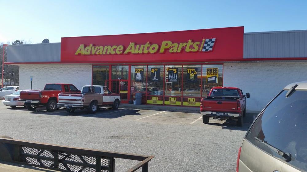 Advance Auto Parts: 404 S Main St, Belton, SC
