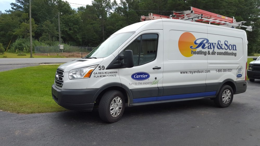 One Of Our Hvac Service Vehicle In Nashville Ga Yelp