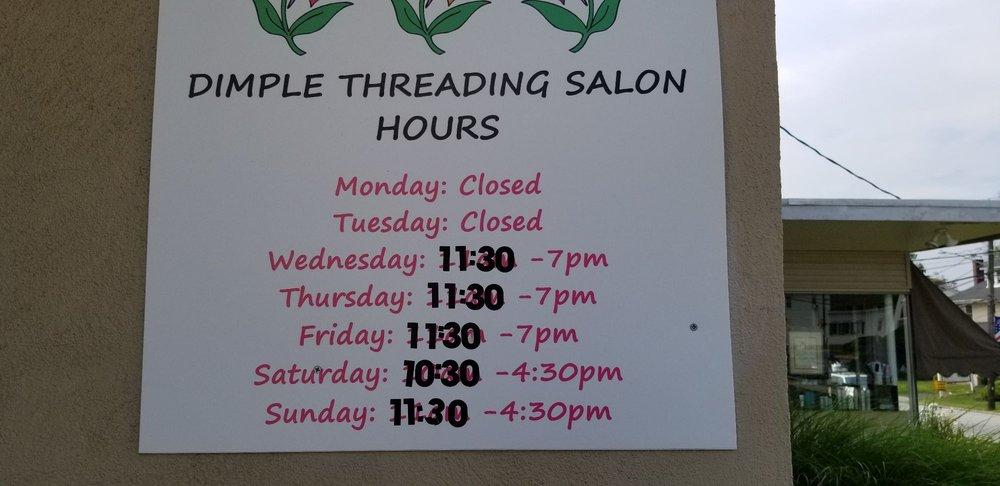 Dimple Threading Salon: 2557 Huntingdon Pike, Huntingdon Valley, PA