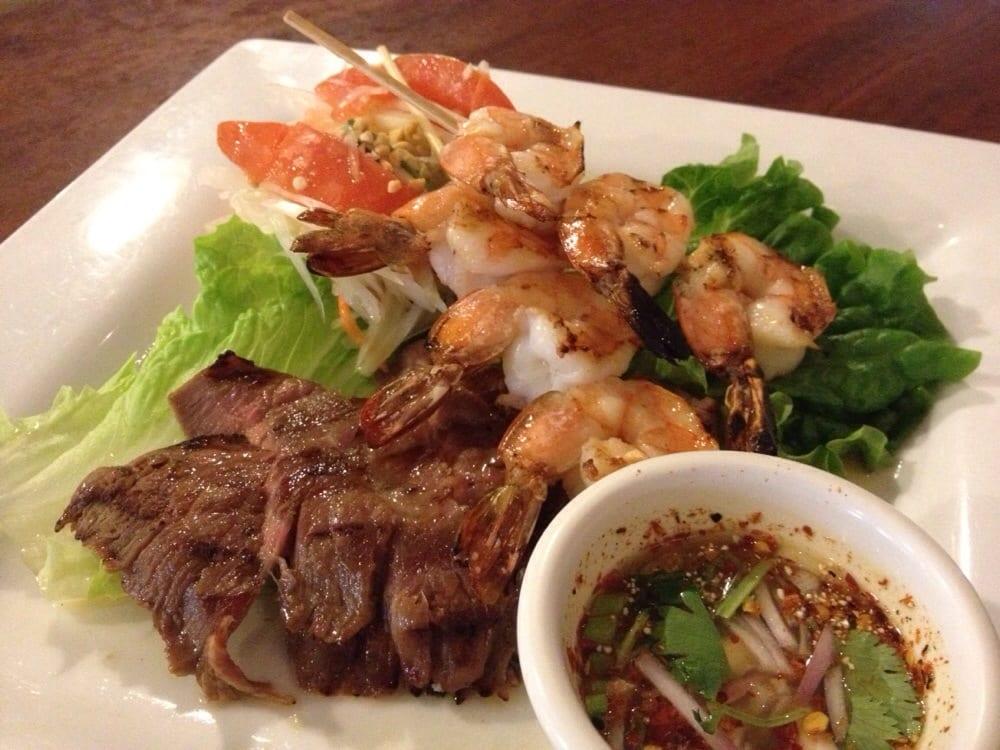 Thai style surf turf yelp for Arlington thai cuisine