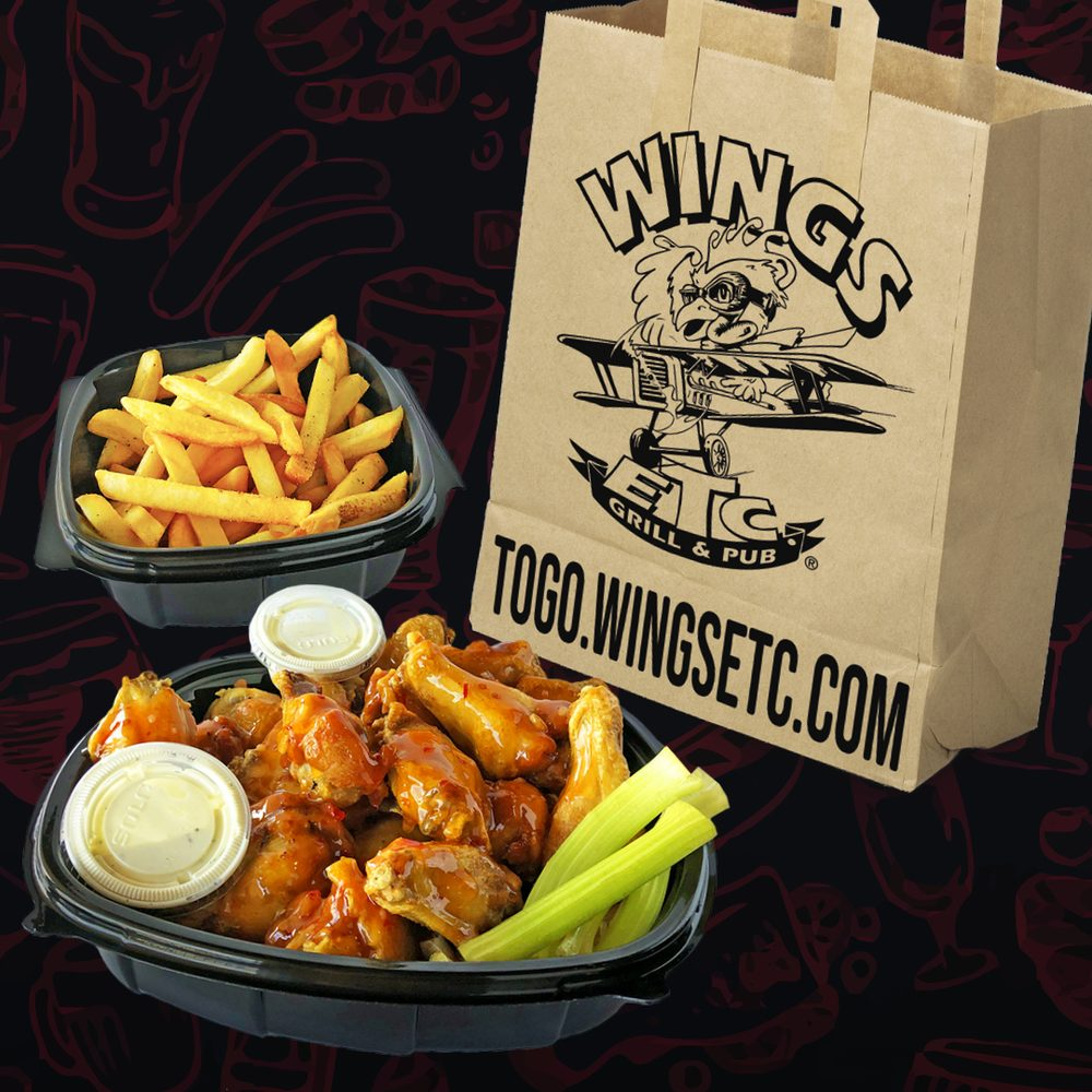 Wings Etc: 657 N Main St, Bluffton, IN