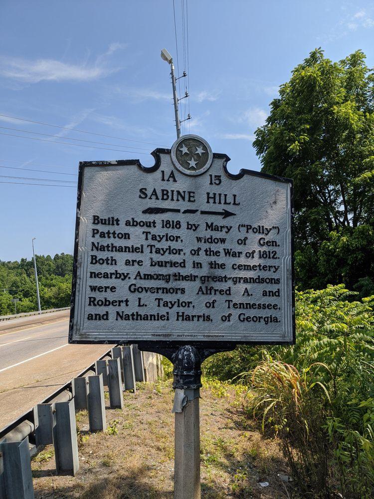 Sabine Hill Historical Marker: 2328 W G St, Elizabethton, TN