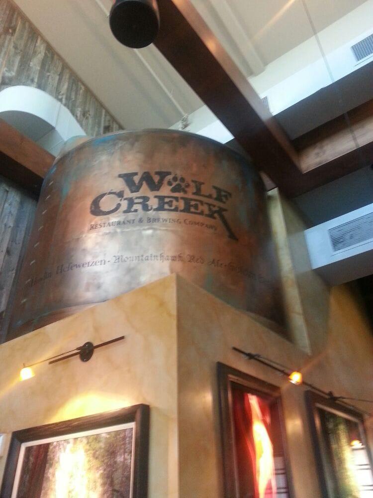 Wolf Creek Restaurant & Brewing Company - CLOSED - 47 Photos