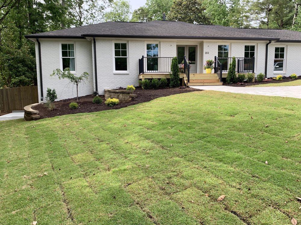 Hearn Landscape: 962 Brook Woolsey Rd, Brooks, GA