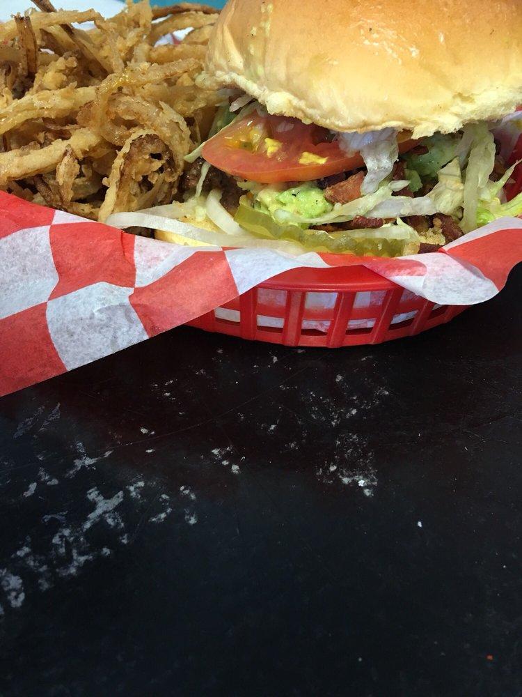 Flo's Burger Diner: 19322 E Admiral Pl, Catoosa, OK