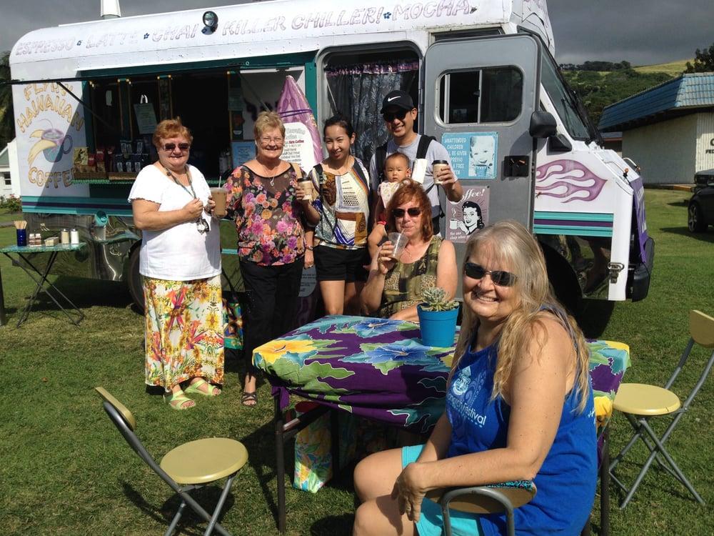 Aloha Coffee Truck: The Big Island, Naalehu, HI