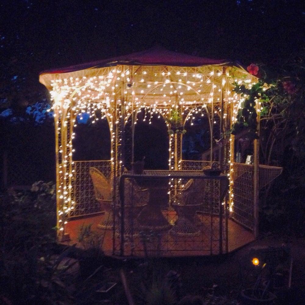 Gazebo At Night So Romantic Yelp