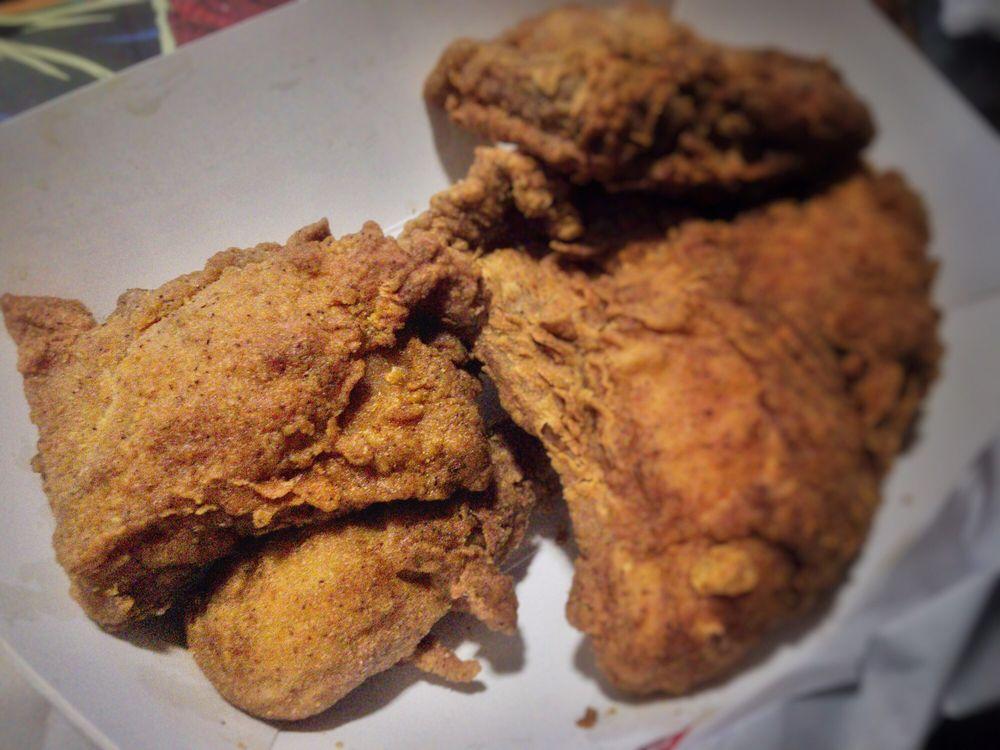 Krispy Krunchy Chicken: 2701 N Brea Blvd, Fullerton, CA