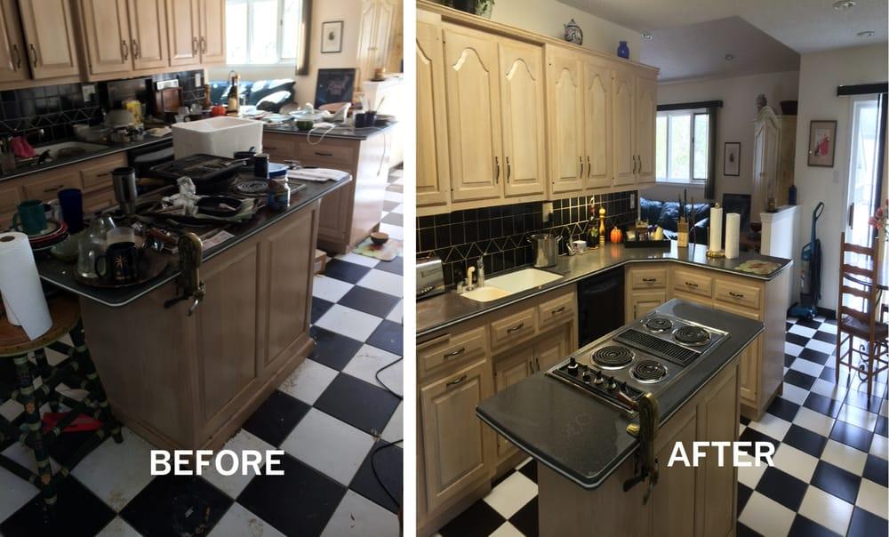 Before & after Kitchen/der - Yelp