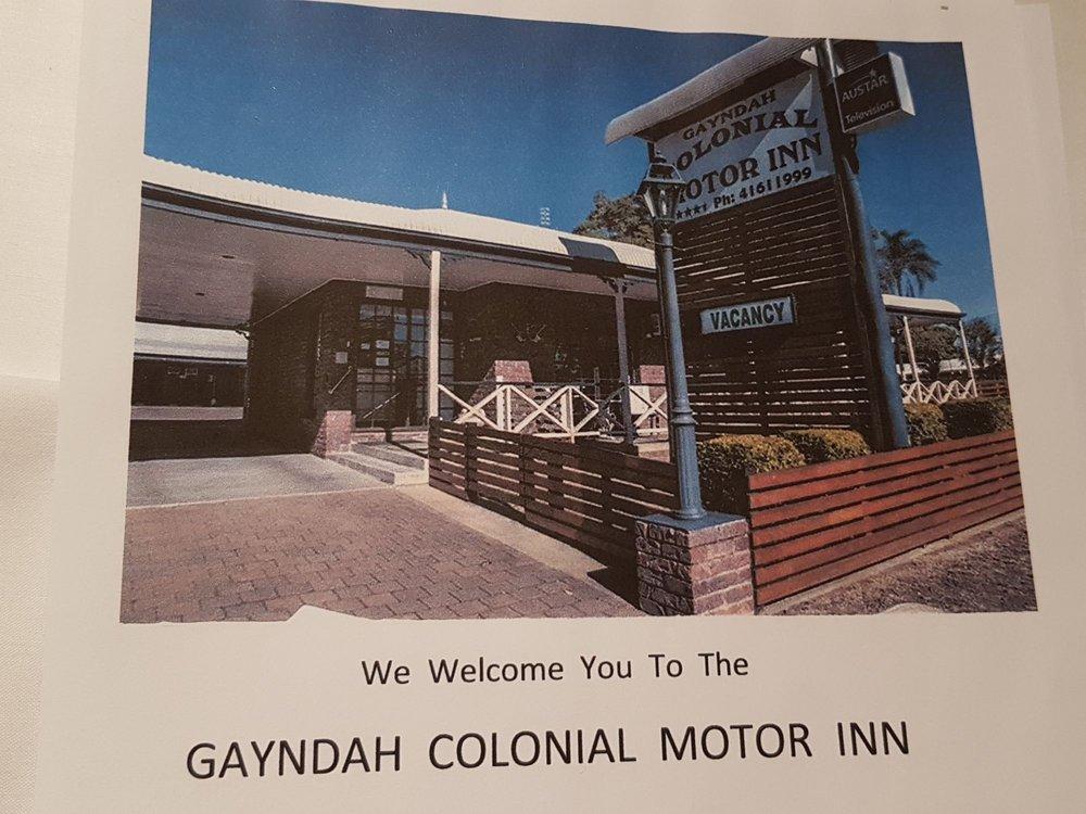 Gayndah Colonial Motor Inn
