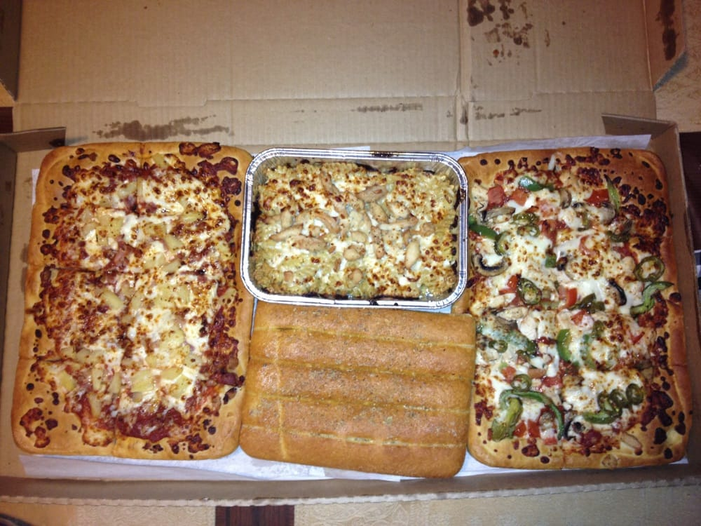Aug 03,  · This is the big dinner box from Pizza Hut, which has pepperoni pizza, cheesy mozzarella chicken alfredo pasta, cheesy breadsticks, and .