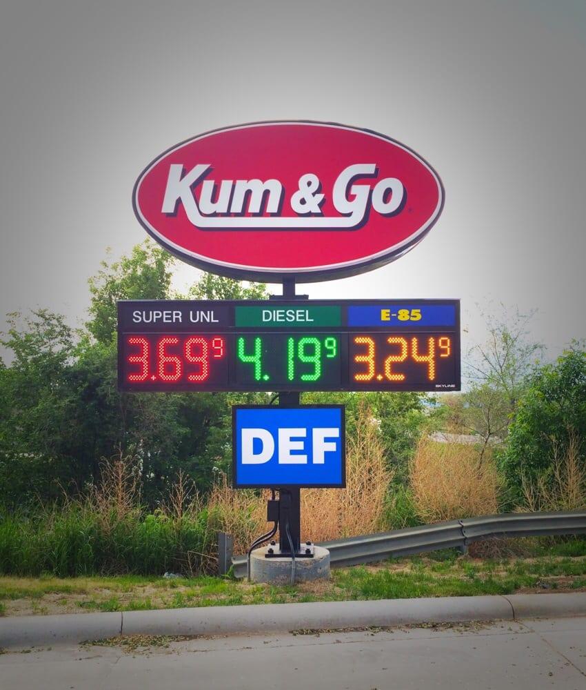 Kum & Go: 124 Main St S, Watford City, ND