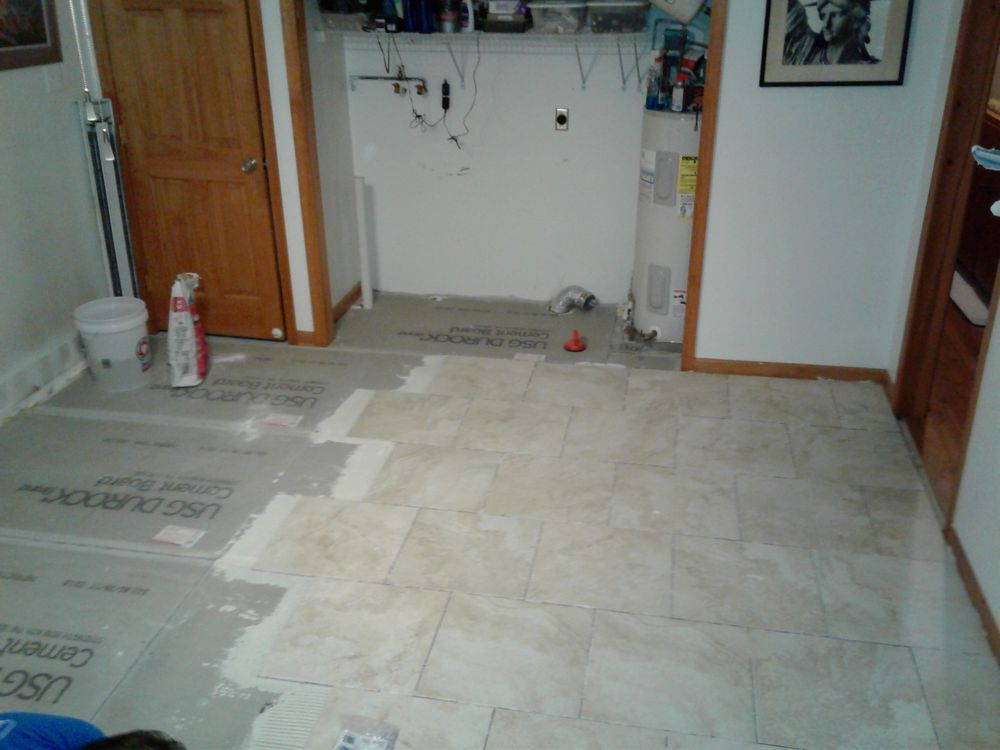 Putting Down The Tile Yelp