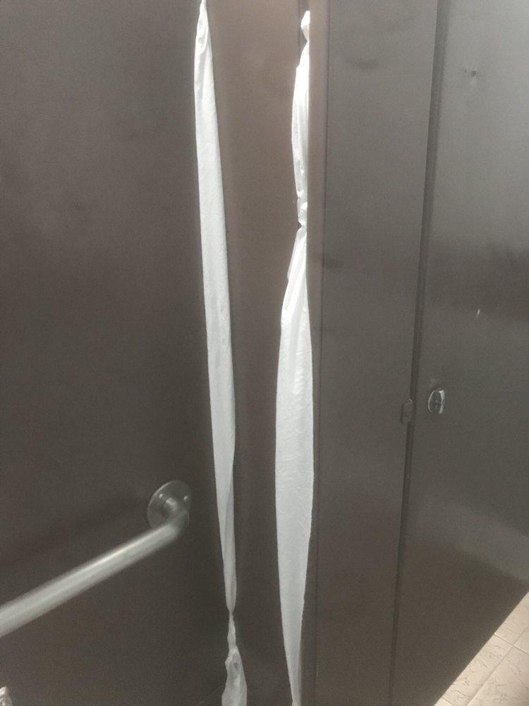 State-Of-The-Art Security System: Toilet paper plugging up the gaps ...