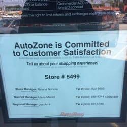 AutoZone Auto Parts - 12320 La Mirada Blvd, La Mirada, CA