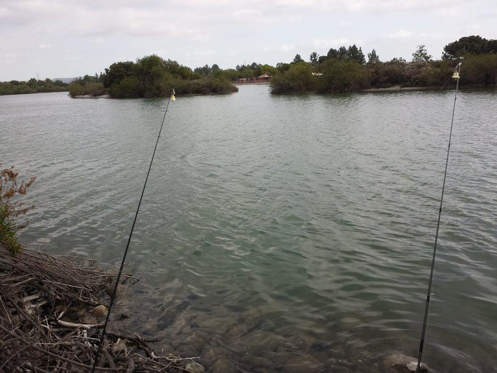 Fishing between the islands yelp for Santa fe dam fishing
