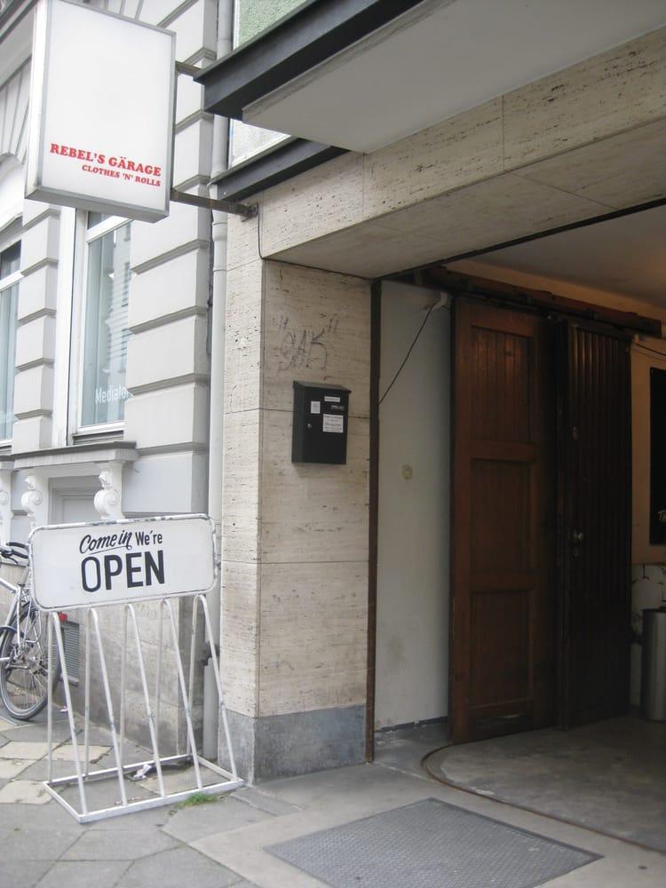 rebel s garage gneisenaustr 10 pempelfort nordrhein westfalen. Black Bedroom Furniture Sets. Home Design Ideas