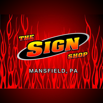 Image result for the sign shop mansfield pa images