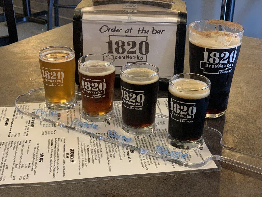 1820 BrewWerks: 105 W Main St, Ottawa, OH