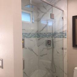 Photo Of Custom Tile Work Co Vista Ca United States Bathroom