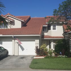 Photo Of Foambrite Roof Cleaning   Pompano Beach, FL, United States. A  Picture