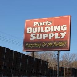 Paris Building Supply - Get Quote - Building Supplies - 1180 N ...