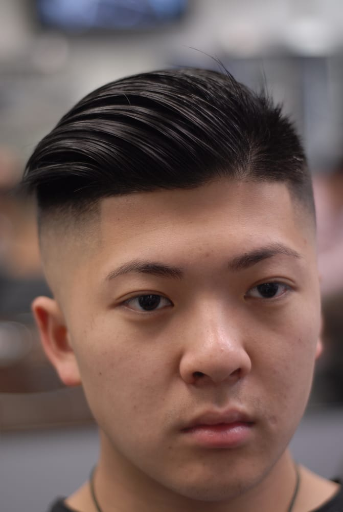 Fade Haircut Asian Hairs Picture Gallery