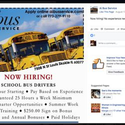 how many hours does a school bus driver work a week