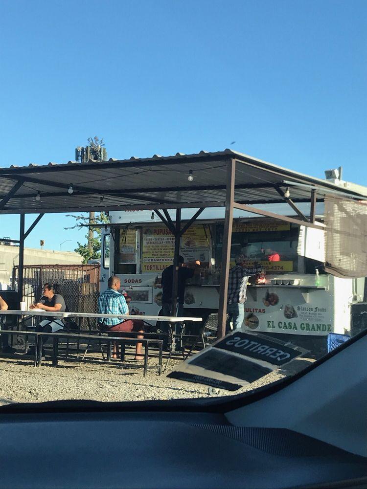 Taqueria El Casa Grande: 452 W Slauson Ave, Los Angeles, CA