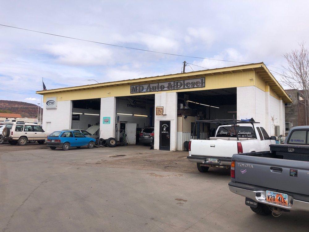 M D Auto & Diesel: 285 S 100th E, Kanab, UT