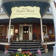 Great Bike Parking Photo Of Naples Hotel Restaurant Ny United States Built In 1895