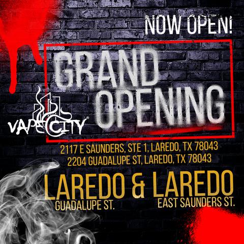 Vape City - Laredo: 2220 Guadalupe St, Laredo, TX