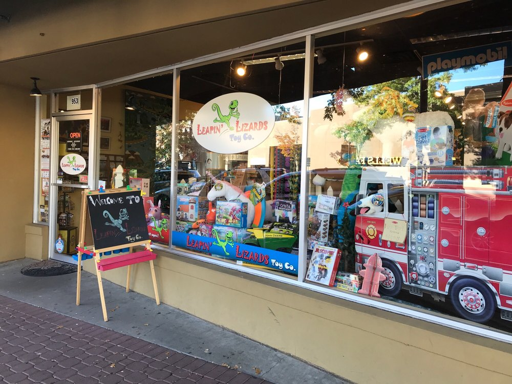 Leapin' Lizards Toy: 953 NW Wall St, Bend, OR