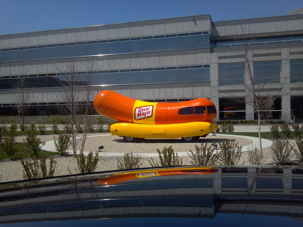 The weiner mobile yelp - Kraft foods chicago office ...