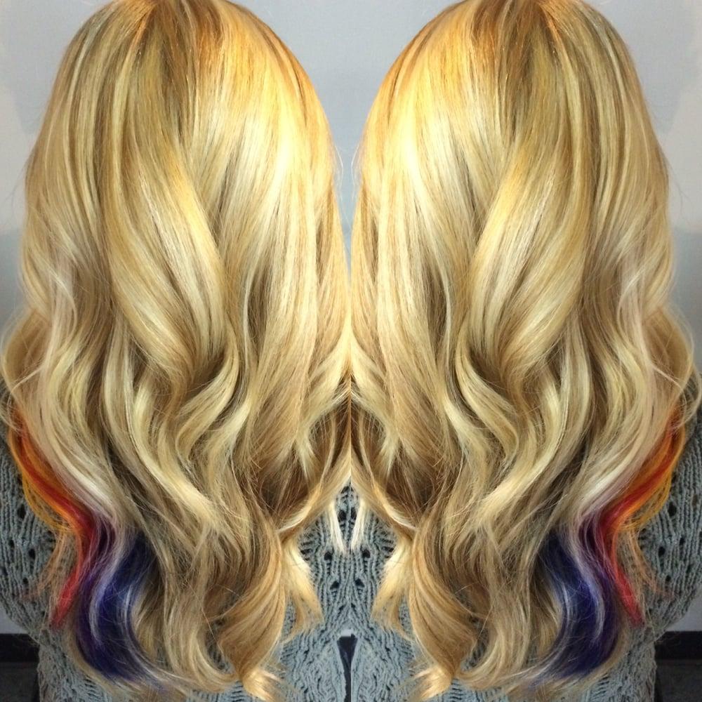 Real Blush Hair Purple Hair Hair Color Long Bob Paul Mitchell