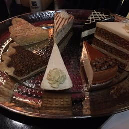 Texas de Brazil - West Nyack, NY, United States. Desserts! Carrot cake, Bananas Foster Pie.  Pecan pie.  Carmel cheesecake, coconut Creme pie, mousse cake.