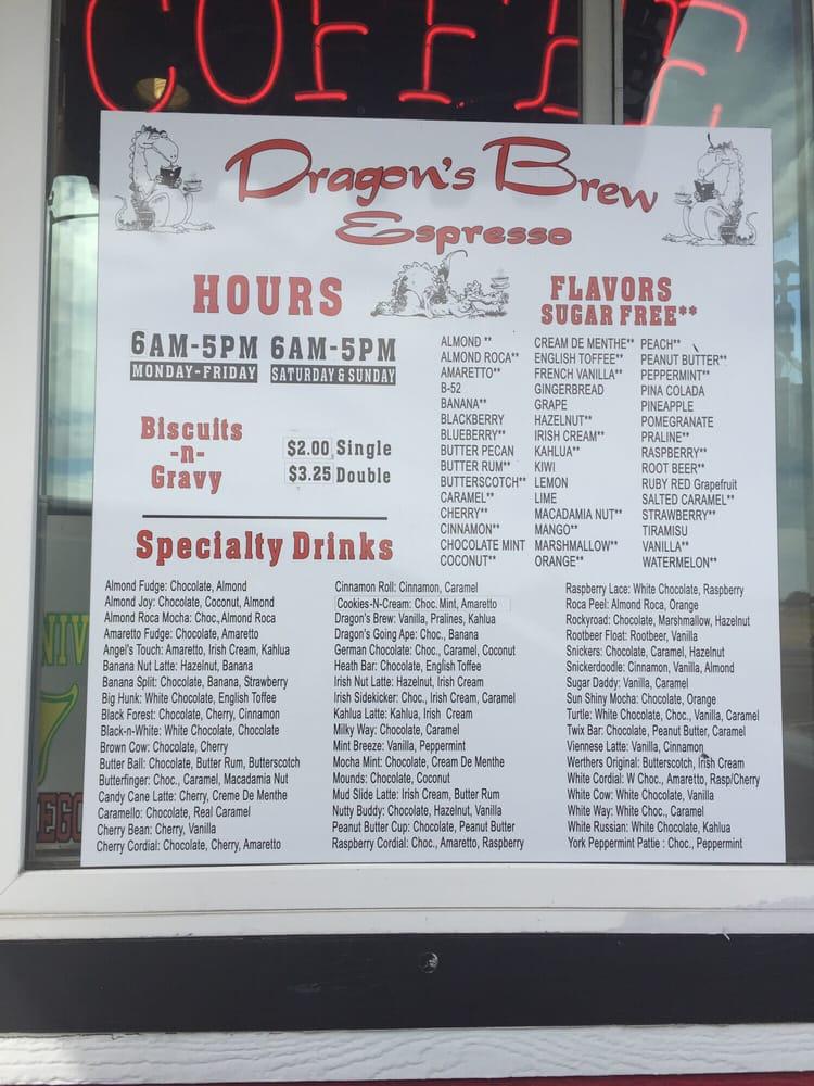 Dragon's Brew Espresso: 3513 Knox Butte NE, Albany, OR