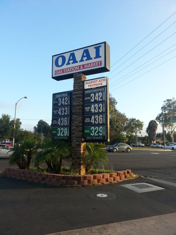 OAAI - Gas & Service Stations - 501 W 9th Ave, Escondido, CA, United States - Phone Number - Yelp