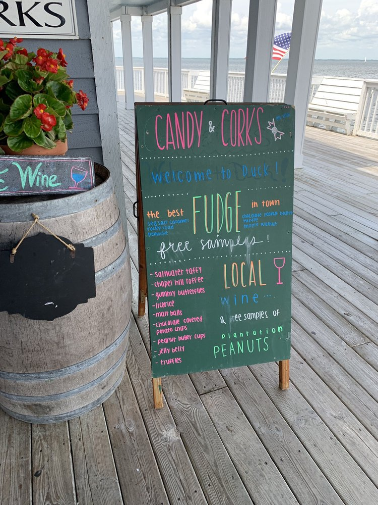 Candy & Corks: 1240 Duck Rd, Duck, NC