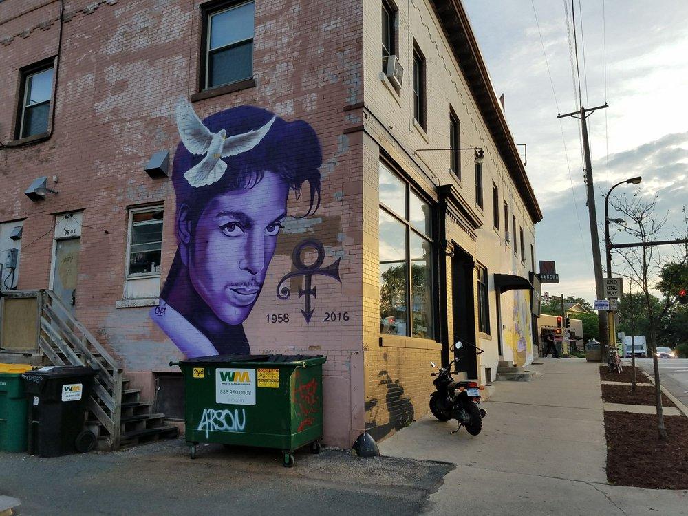 Prince Tribute Mural