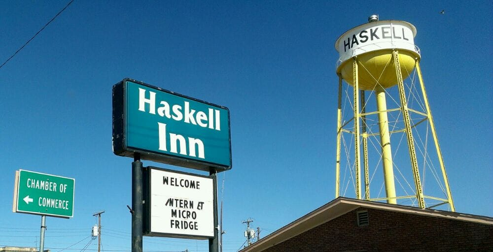 Haskell Inn: 115 S Ave E, Haskell, TX