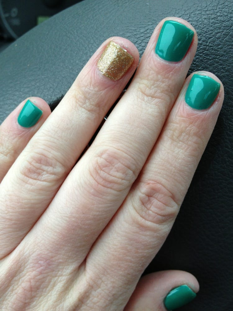 St Patty\'s Day nails - Yelp