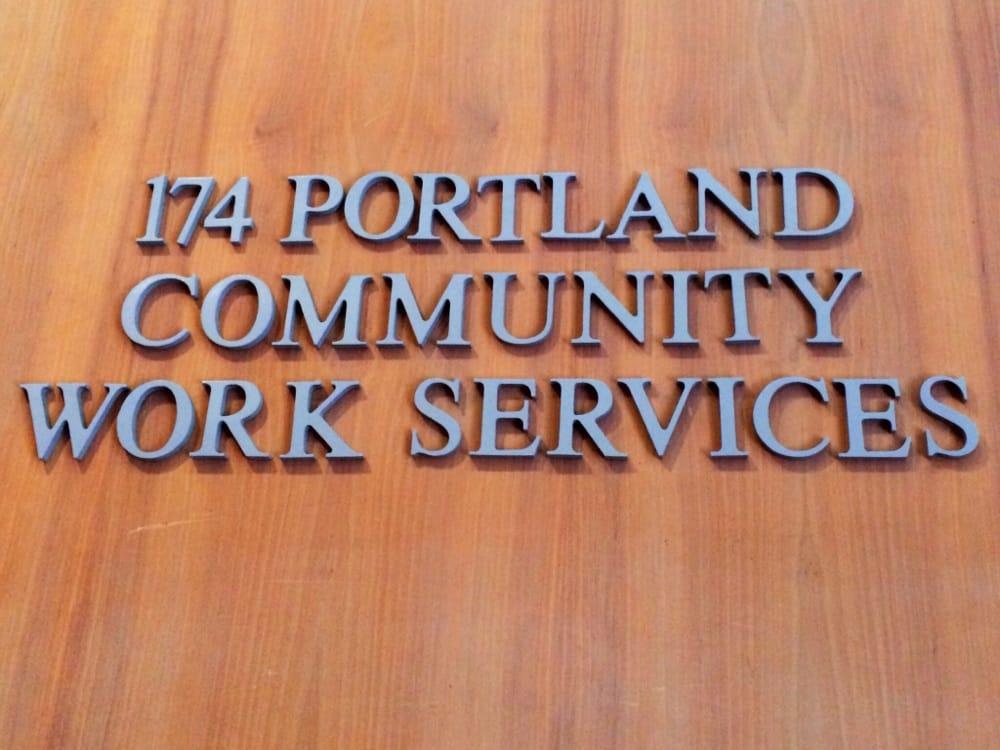 Community Work Services