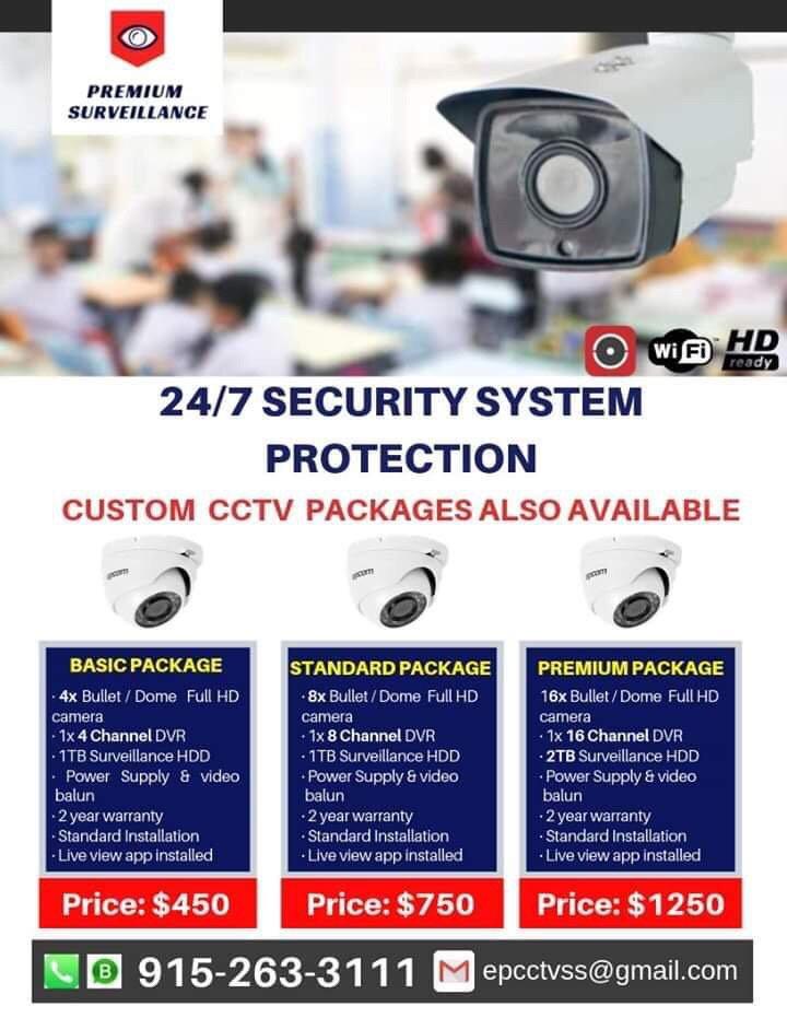 Premium Surveillance: El Paso, TX