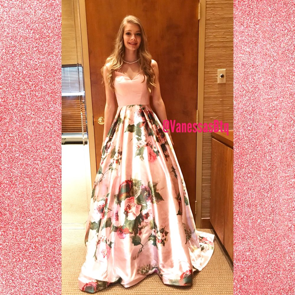 Large Selection Of Prom Dresses Available At Vanessas Boutique Yelp