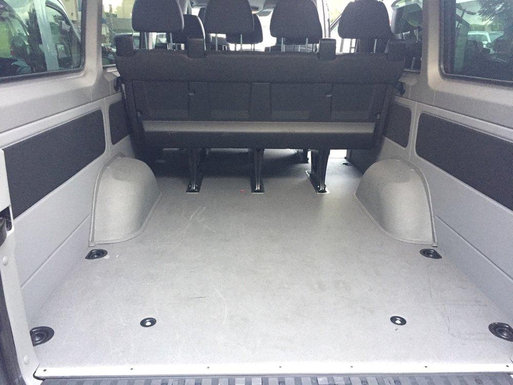 12 Seater Mercedes Sprinter Passenger Van Interior 1