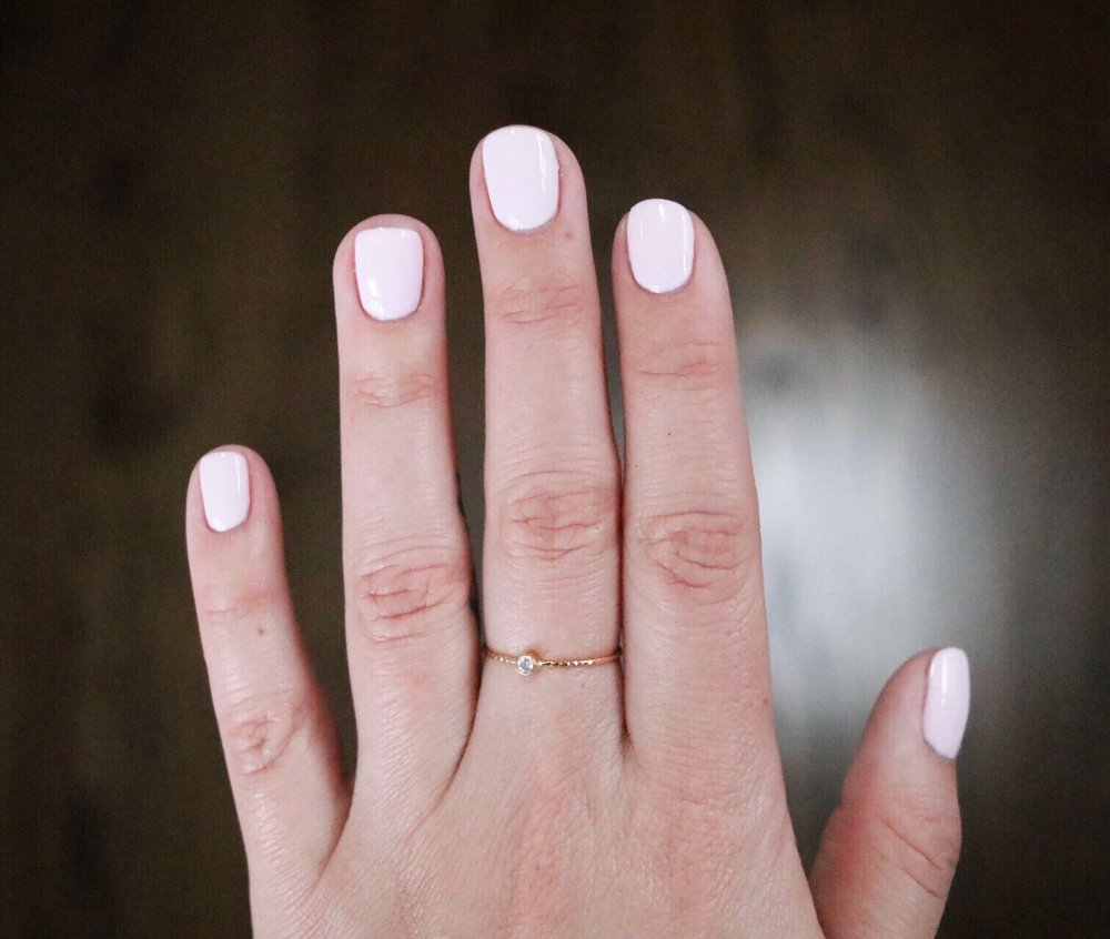 My favorite color no-chip, OPI Hello Kitty \