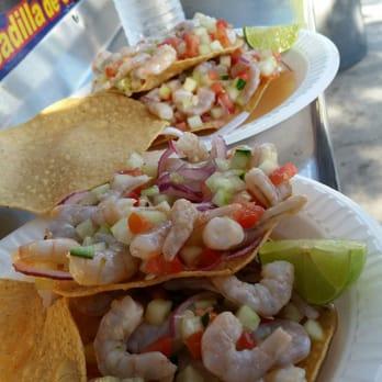 Mariscos Food Truck Santa Ana